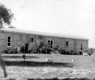 Camp chapel in 1947